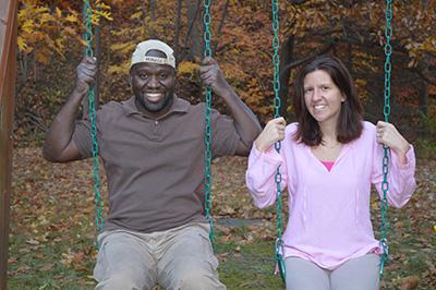 Charity Virkler Kayembe and Leo Kayembe