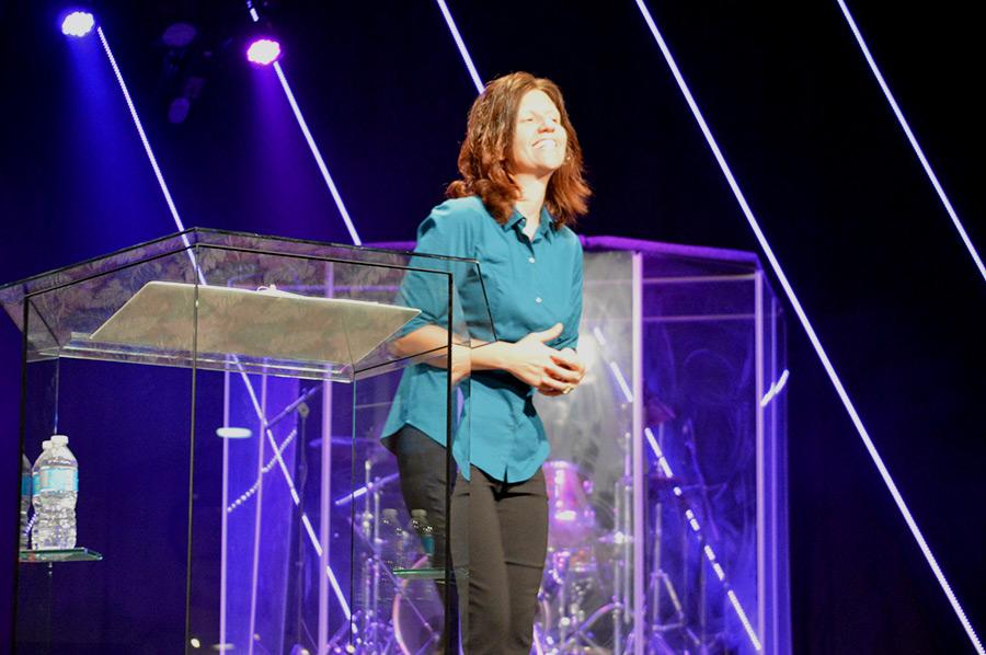 Charity Virkler Kayembe Speaking
